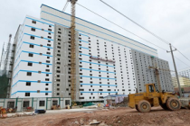 В Китае строят многоэтажные свинофермы