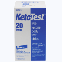 Кето-тест тест полоски №20
