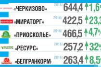 Рейтинг: Топ-25 крупнейших российских производителей мяса