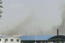 На птицефабрике «Калужская» произошел сильный пожар. Приостановлена работа некоторых цехов