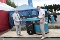 Слободской машзавод из Кировской области выпустил первый отечественный кормоподталкиватель для КРС ферм