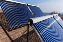 В Альметьевском районе Татарстана на ферме используют солнечные водонагреватели