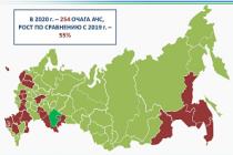 Информационное сообщение по эпизоотической ситуации в РФ на 1 февраля 2021 года