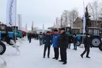 На базе ГУСП «Башсельхозтехника» проходит III отраслевая выставка сельскохозяйственной техники
