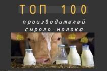 Топ-100 крупнейших производителей молока России 2021